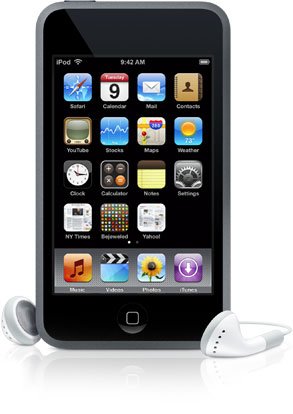 Apple iPod Touch Device Specifications
