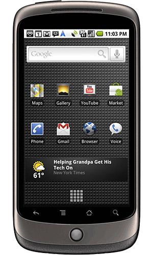 Google Nexus One Device Specifications