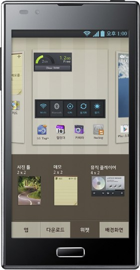 LG F160K Device Specifications