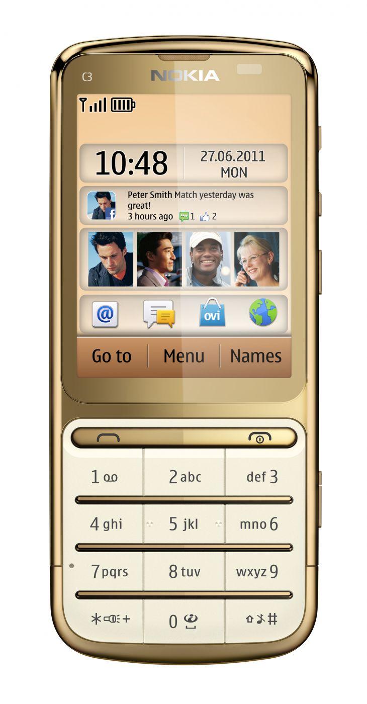 Мобильный телефон gold 4
