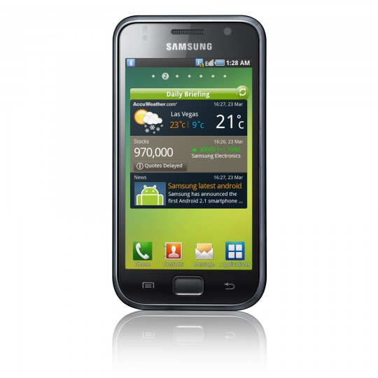 Samsung GT-I9000 Device Specifications