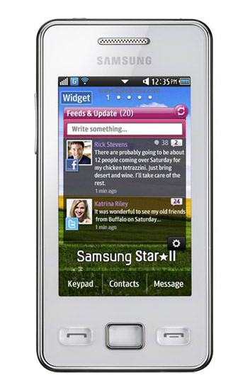 Samsung GT-S5263 Device Specifications