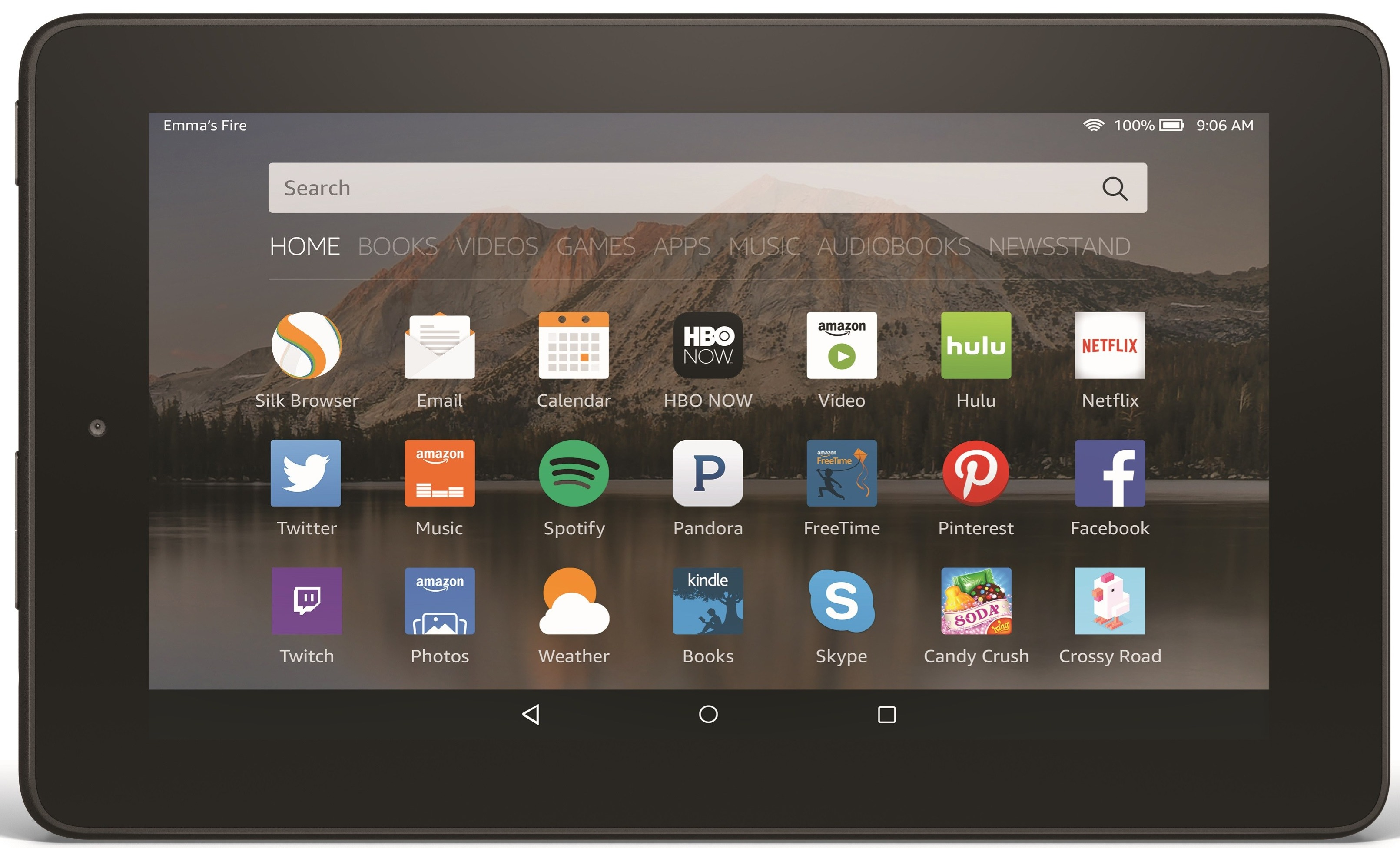 Amazon Fire HD 6 Device Specifications