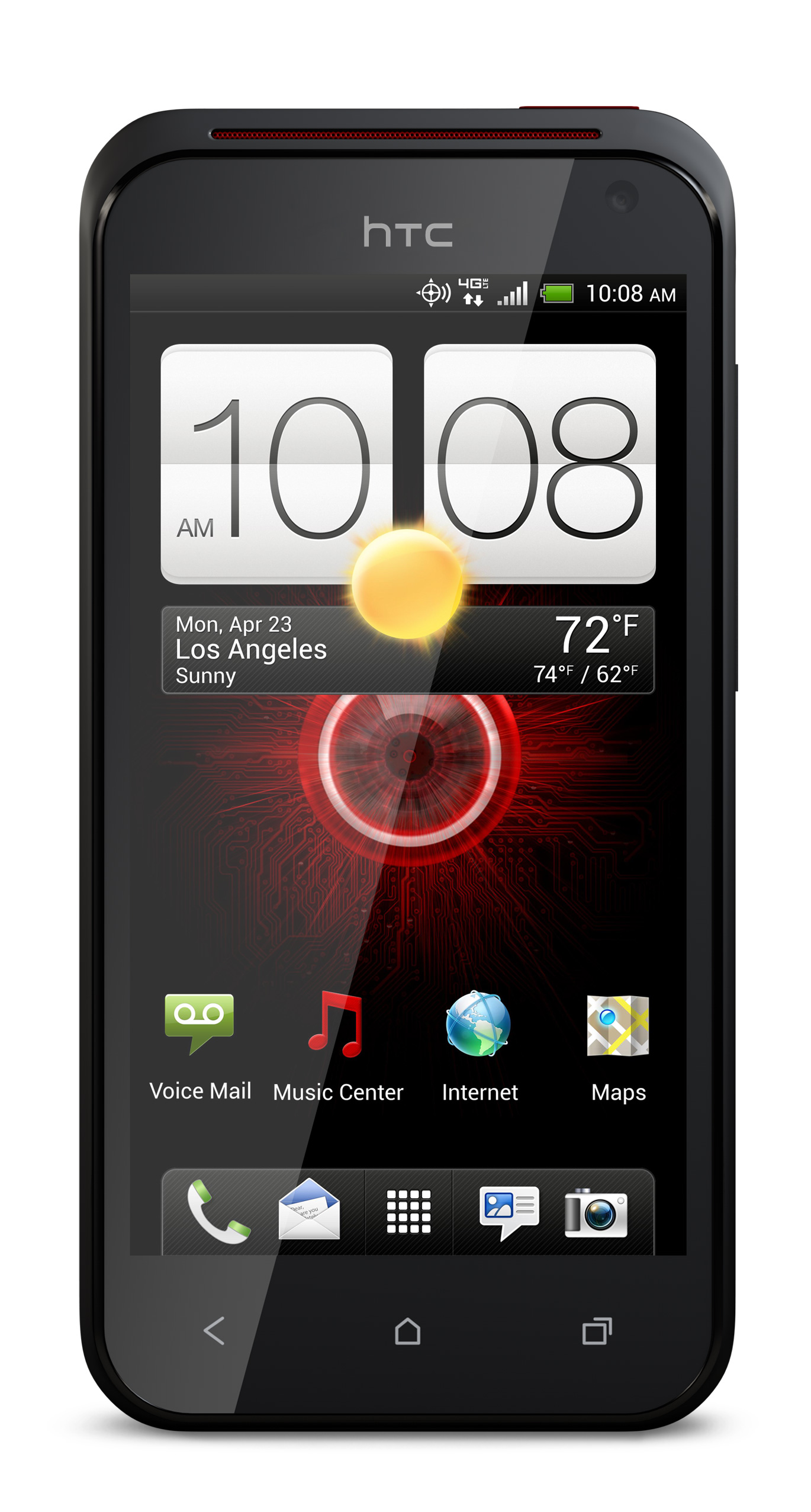 HTC Incredible 4G LTE Design Information