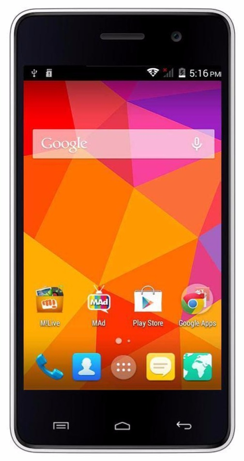 Micromax A106 Device Specifications