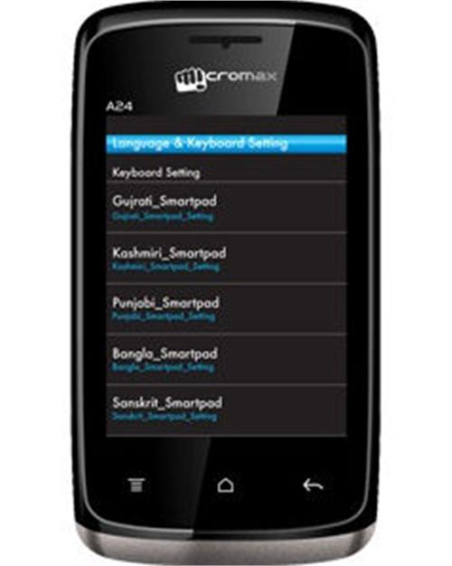 Micromax A24 Device Specifications