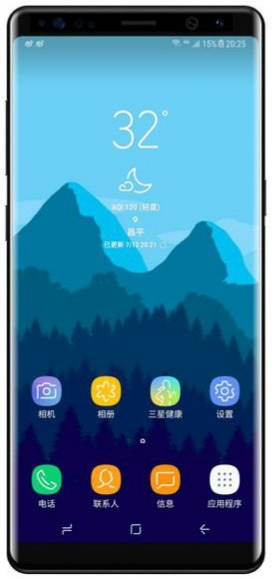 Detection Sm-n950x Samsung - Handset