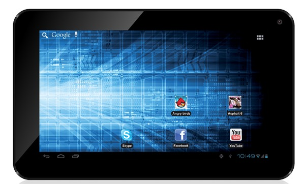 Storex eZee Tab 7D12-S Device Specifications
