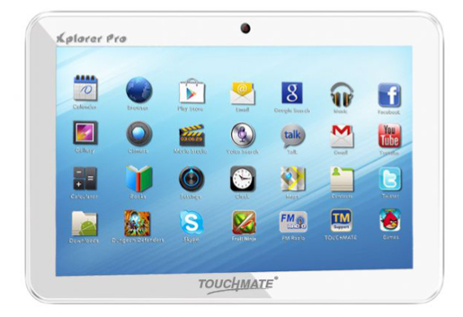 Touchmate TM-MID1010 Device Specifications